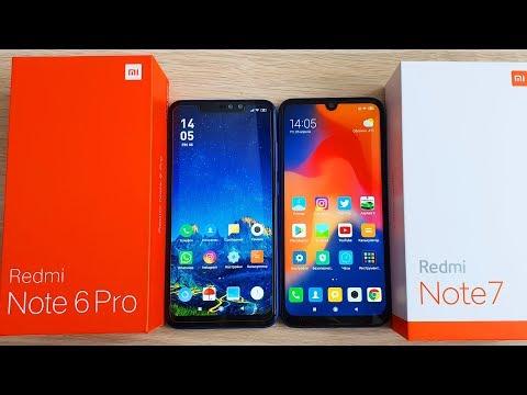 Xiaomi Redmi Note 6 Pro Vs Redmi Note 7 - СРАВНЕНИЕ. КАКОЙ ВЫБРАТЬ?