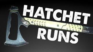 HATCHET RUNS! | Closed...