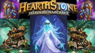 Hearthstone Lady in White the Mech Priest Hero