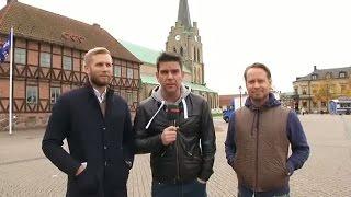 Fotbollskanalen on Tour: Inför U21-ödesmatchen mot Frankrike - TV4 Sport