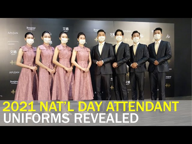 National Day attendants to sport uniforms from Taiwanese designer Apu Jan | Taiwan News | RTI