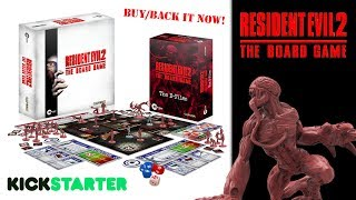 Resident evil 2 the board game | kickstarter launched steamforged games | buy/back it now!