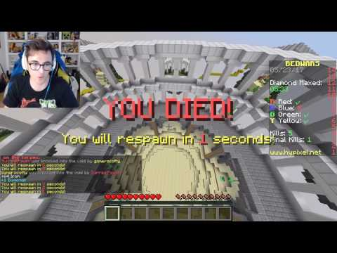 TUTTI CONTRO UNO - Minecraft Bed Wars