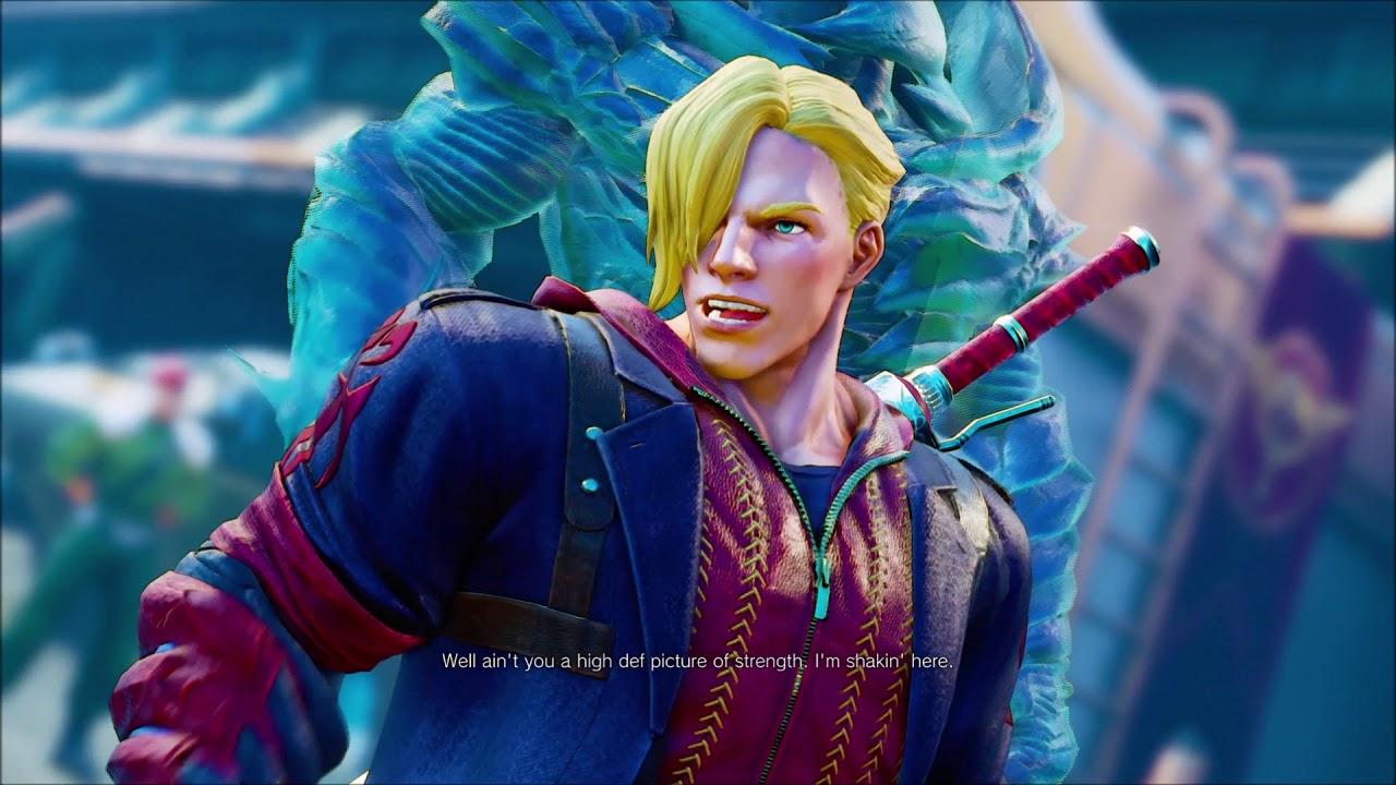 Nero Special Ed Costume Vs Special Dante Ken Costume Street Fighter V Devil May Cry Skin Youtube