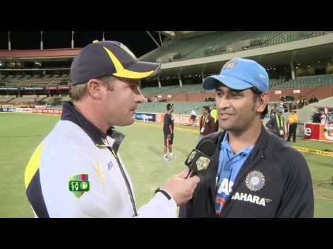 Feb 12th: MS Dhoni Talks Chocolate Burgers and Cricket