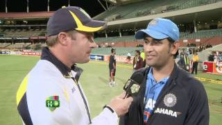 Feb 12th: MS Dhoni Talks Chocolate Burgers and Cricket