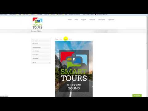 Smart Tours Audio Travel Guide - Overview