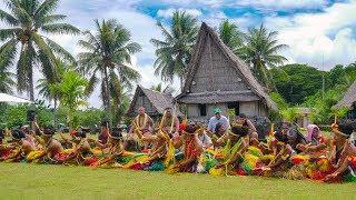 [4K UHD] 日本-ミクロネシア連邦国交樹立30周年記念 2018 Yap Homecoming Summer  Festival , FSM ヤップ島 検索動画 26