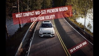 2019 Volvo V60 | Most Compact Mid-Size Premium Wagon Ever From Volvo?! | Interior | Exterior |Review