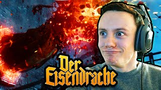 DER EISENDRACHE FIRST ATTEMPT LIVE REACTION Black Ops 3 Zombies DLC Gameplay