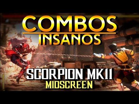 Scorpion Combos - Midscreen - MORTAL KOMBAT 11 thumbnail