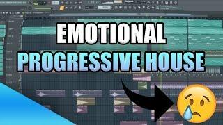 How To Make EMOTIONAL Progressive House    FL Studio Tutorial