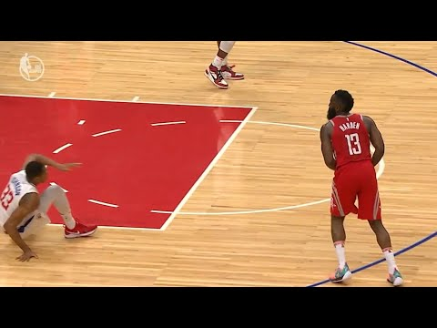 James Harden DISRESPECTS Wesley Johnson