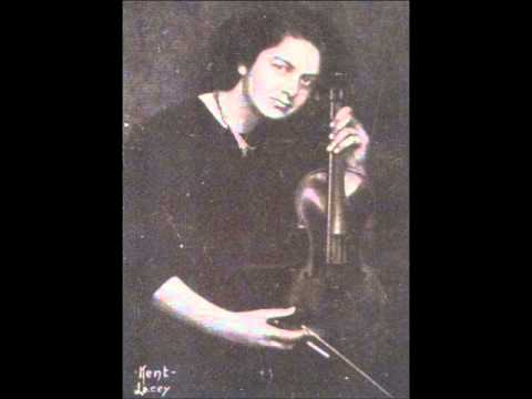 Isolde Menges - Bach Chaconne
