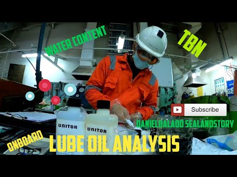 Lube Oil Analysis Onboard Ship