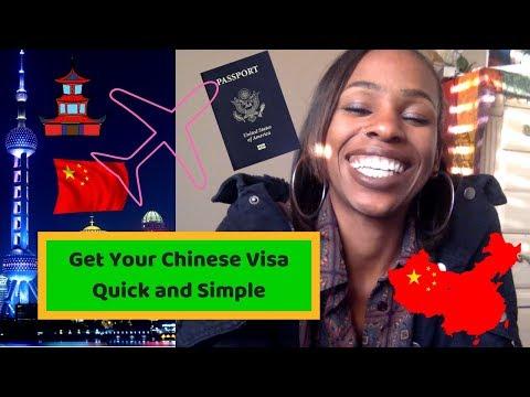 Steps On How I Got My Chinese Visa. EASY! U.S Citizen.