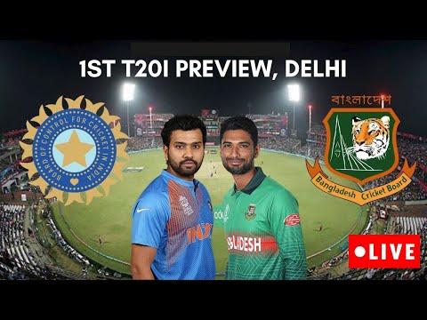 Live Match: India Vs Bangladesh   Ban vs Ind 1st T20 Live Score