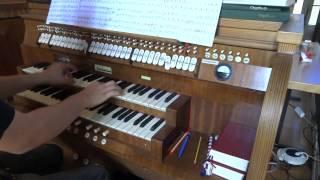 Alte Kameraden - Carl Teike (Marsch auf der Orgel / March on the Organ)