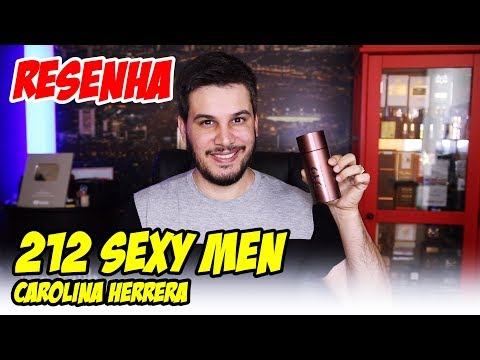 Resenha 212 SEXY MEN - Perfume Importado de Carolina Herrera