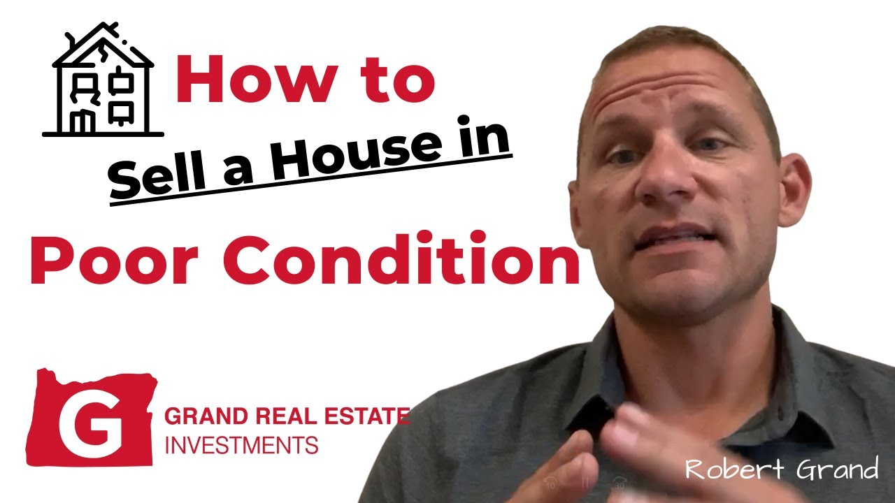 How to Sell a House In Eugene That's In Poor Condition