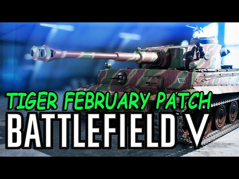 Battlefield V Tiger specialization & Game play after February patch thumbnail