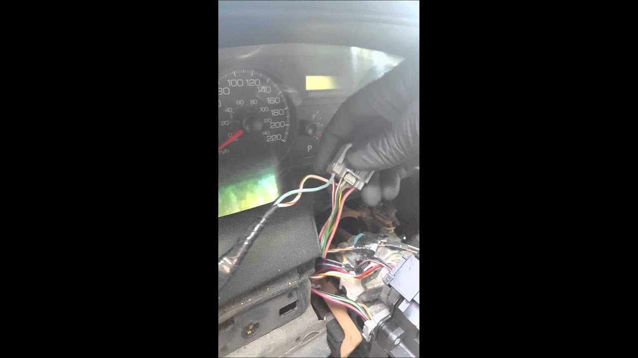 how to do a 2003 to 2011 crown victoria p71 turn signal mod [ 1280 x 720 Pixel ]