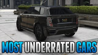 GTA 5 Online - TOP 5 MOST UNDERRATED CARS IN GTA 5 ONLINE! (GTA 5 Rare Cars)