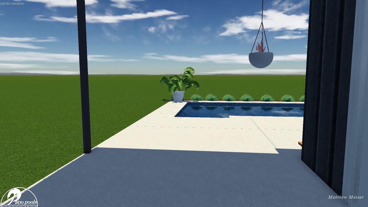 Larsen Swimming Pool - Patio Pools