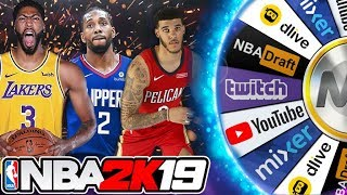 NBA 2K19 Wheel of Streamers