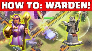 Clash of Clans GRAND WARDEN ATTACK STRATEGY | HOW TO USE NEW GRAND WARDEN STRATEGIES