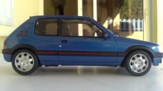 Peugeot 205 GTI 1.9 Vs Peugeot 205 Rallye 1.3 Ottomobile 1/18 (974)