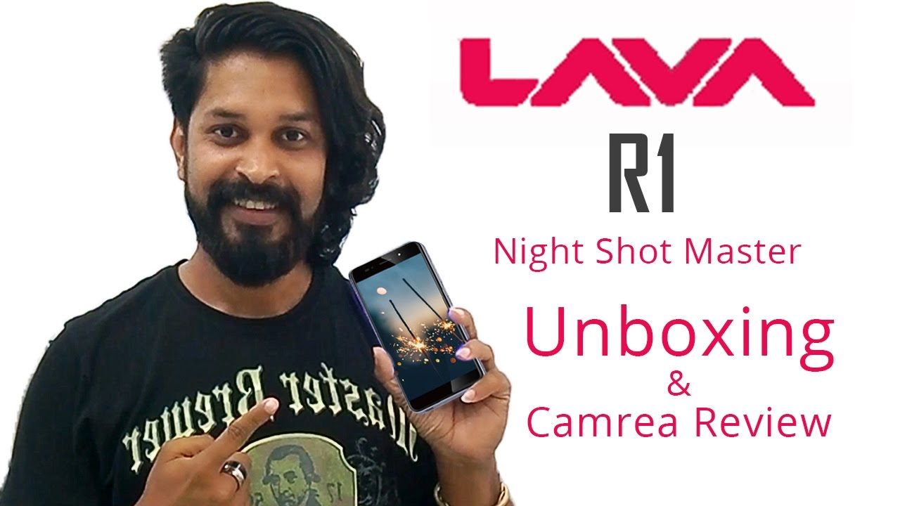 Lava Iris R1 Unboxing and camera review