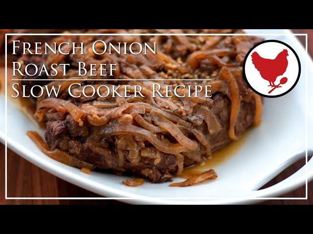 FRENCH ONION ROAST BEEF | Recipe Teaser