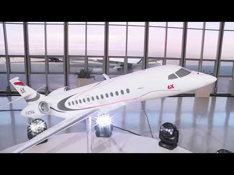Dassault Aviation Launches Falcon 6X