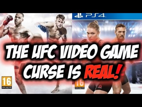 THE UFC VIDEO GAME CURSE IS REAL!