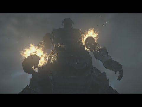 Shadow of the Colossus PS4: Colossus #16 Malus Boss Fight and Ending