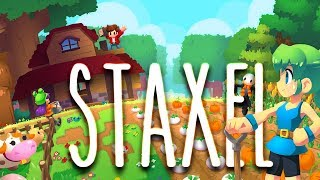 STAXEL 🌳 001: Ein Mix aus CUBEWORLD + MINECRAFT?
