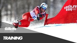 Nevin Galmarini's guide to Snowboard Slalom | Gillette World Sport