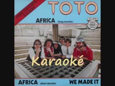 Karaoke Toto - Africa