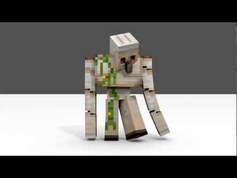 minecraft how to build an iron golem