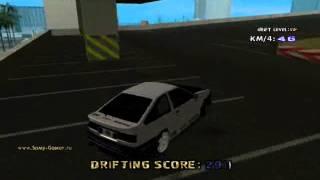 GTA SA Toyota AE86 Trueno Drift