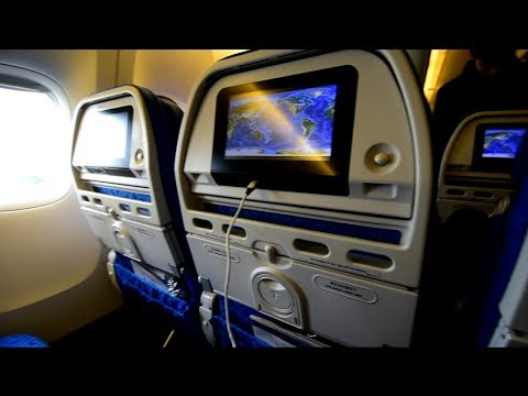Economy Class | Cathay Pacific CX807 Chicago O'Hare to Hong Kong Boeing 777-300ER (Review #47)