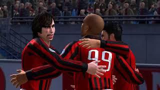 Pro Evolution Soccer 2008 - AC Milan vs Merseyside Red