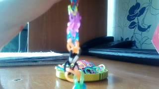 Урок 1.плетение из резиночек простой браслет)