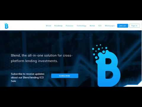 BLEND, the all in one solution for cross platform lending investments