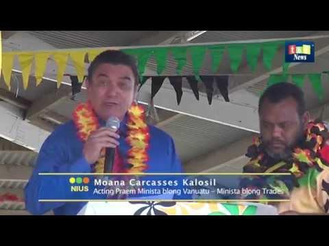 TBV News  Port Vila Trade Fair Launch
