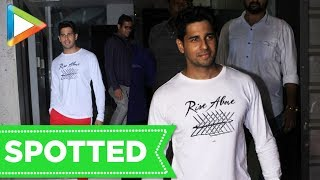 SPOTTED: Sidharth Malhotra at Andheri for Dance Rehearsals