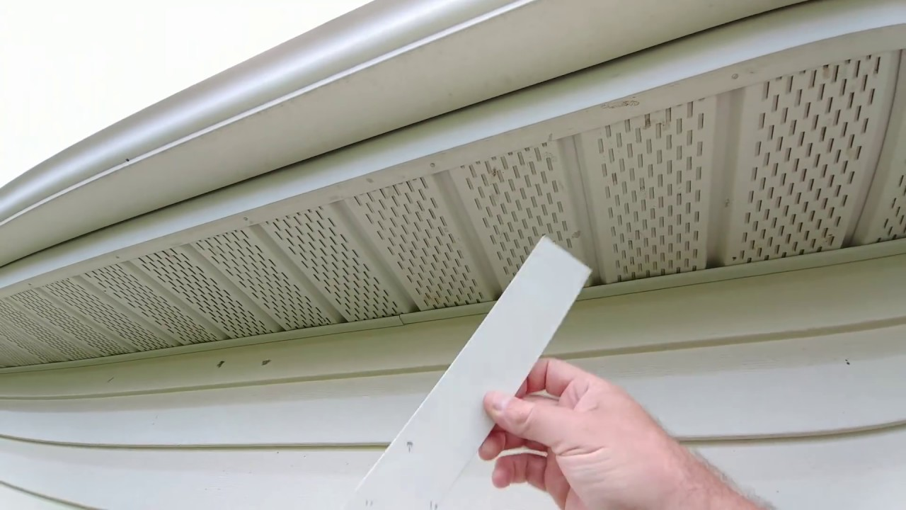 Installing Security Cameras Under Eave With Vinyl Soffit