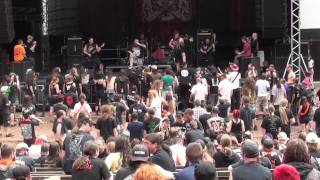 FLESHROT Live At OEF 2011