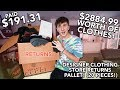 I Paid $191.31 for $2884.99 Worth Of MYSTERY Designer Clothes! (Gucci, Versace & More!)